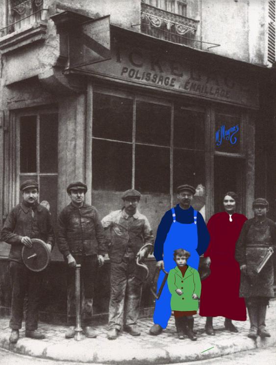 Sonopol 1919 Famille Magniez